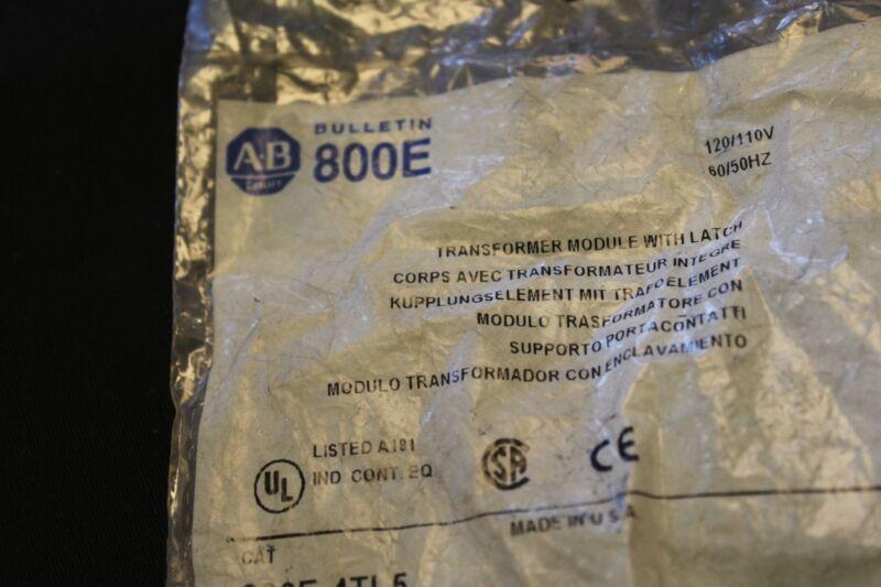 ALLEN BRADLEY 800E-4TL5 TRANSFORMER MODULE  0EE