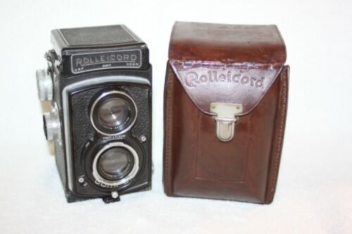 Rolleicord IIb, with case, good working condition
