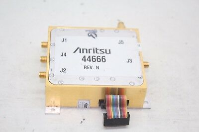 Anritsu Autoreverse Module 44666 Vector Network Measurement System Ms462xx