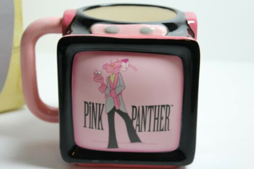 The Pink Panther Collection Vintage Ceramic Coffee Mug Cup 2000 Television