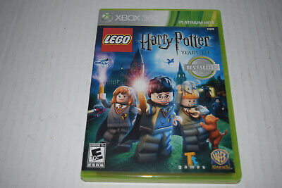 LEGO Harry Potter Years 1-4 (Microsoft Xbox 360, 2010) Complete Tested