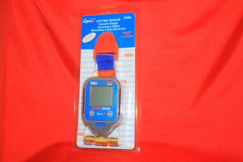 Supco VG64   Vacuum Gauge, Digital Display, 0-12000 microns Range  NEW