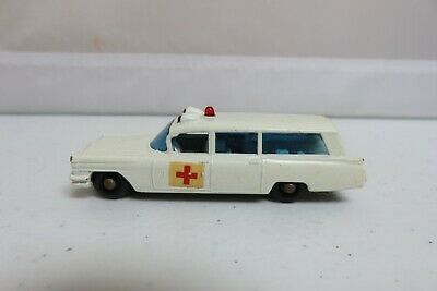 Vintage Lesney Matchbox #54 Cadillac Ambulance Wagon Hurst Car Original