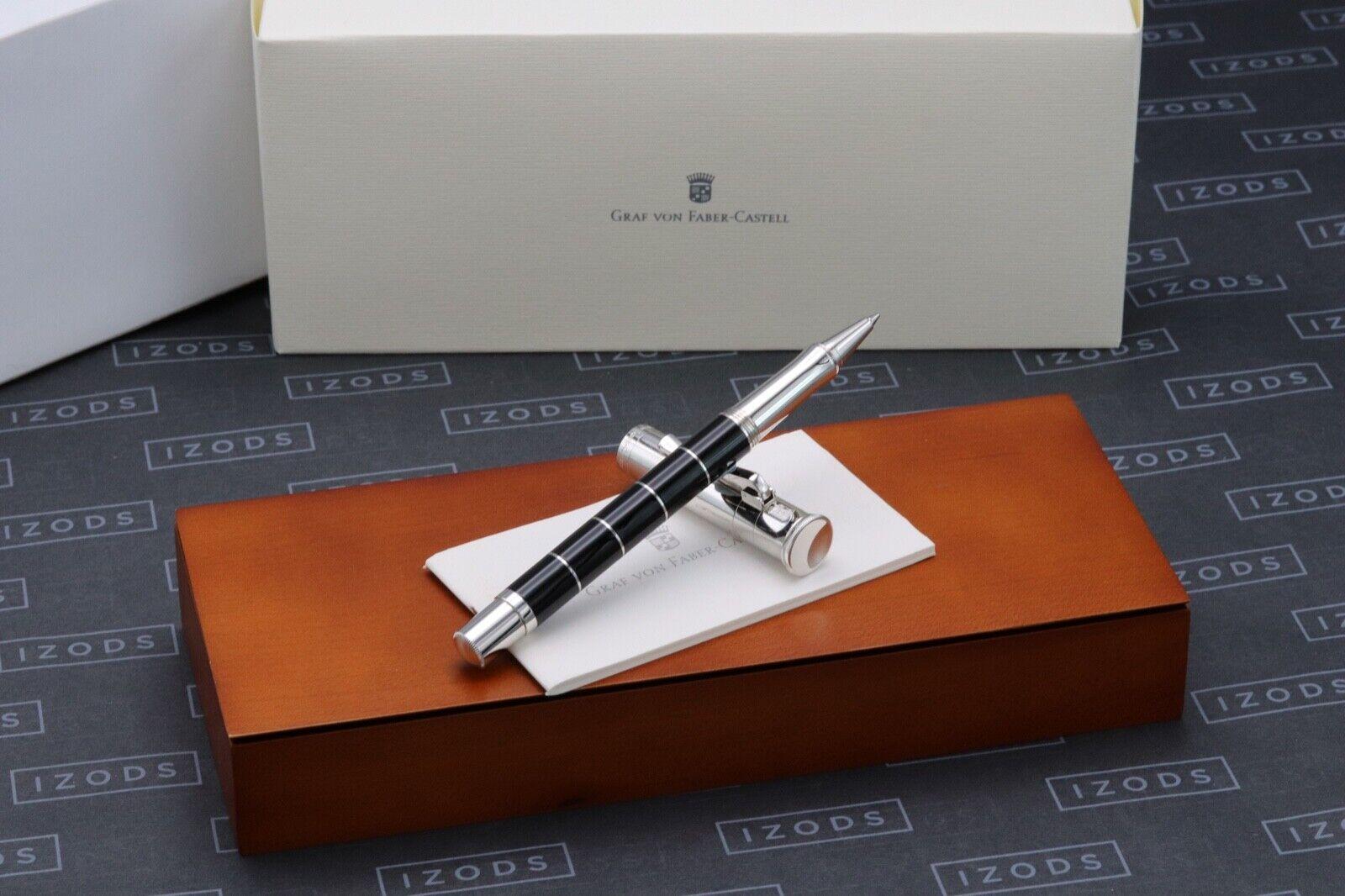Graf von Faber-Castell Classic Anello Black Rollerball Pen