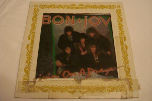 RARE 1987 Bon Jovi Livin
