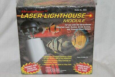 MIRACLE BEAM AQUARIUM LASER LIGHTHOUSE MODULE ( READ DISCRIPTION ) Miracle Beam Laser