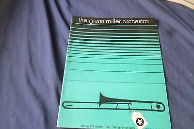 Vintage jazz Band original 1969 UK concert tour program GLENN MILLER ORCHESTRA