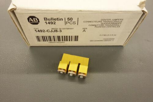Box of 50 ALLEN BRADLEY 1492-CJJ8-3 Center Jumpers NEW NIB