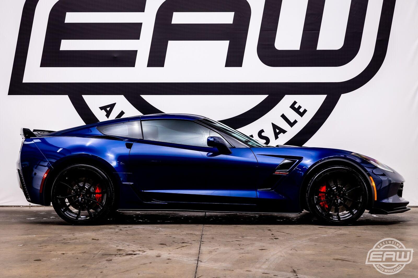 2017 Blue Chevrolet Corvette Grand Sport 2LT | C7 Corvette Photo 9