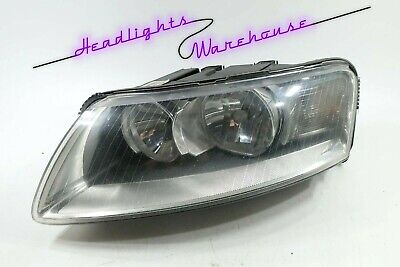GENUINE OEM | 2005-2008 Audi A6 Halogen Headlight (Left/Driver)