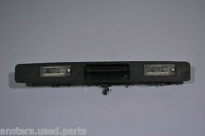 #014 VOLVO V70 2001 NUMBER PLATE LIGHT and BOOT LID OPEN HANDLE P/N 9203101