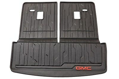 2017-2020 GMC Acadia Integrated Cargo Area & Back of Seat Liner Mat 23398828 OEM