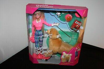 Barbie & Ginger (Pet Dog) Gift Set 1997 NRFB #17116