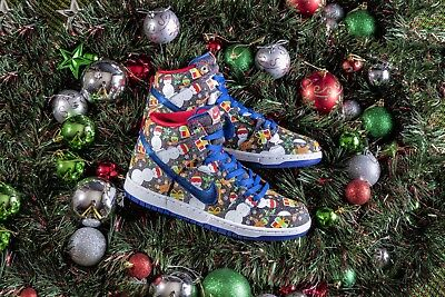 Concepts x Nike SB Dunk High Ugly Sweater 881758-446 SIZE 8 RARE!!!!