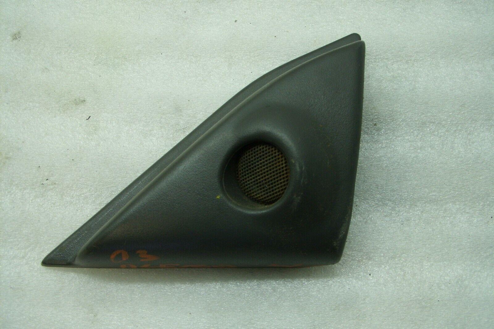 2003 03 Oldsmobile Alero Left Front Gray Speaker Tweeter Bezel B-39 D