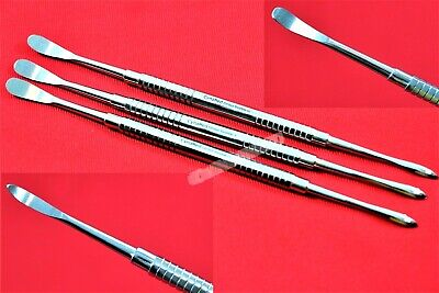 3 German Grade Molt Periosteal M9 Dental Surgery Extracting Extraction Elevator