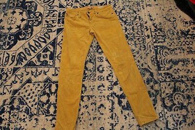 Sanctuary denim size 27 womens the charmer corduroy mustard yellow pants (Denim Corduroys)