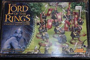 Games Workshop LoTR Khandish Warriors Lord of the Rings New BNIB GW 10x Metal