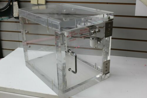 Bullet Resistant Bullet Proof Bulletproof Pass Through Box Acrylic Bank