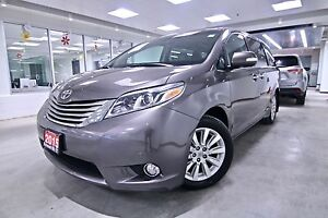 2015 Toyota Sienna LIMITED 7-PASS AWD, ONE OWNER, CLEAN CARPROOF
