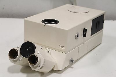 Carl Zeiss Trinocular Microscope Head 35mm 25c 4x5 10x 508859 45 19 37 9902