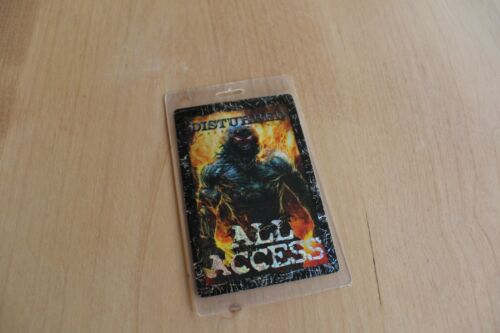 Disturbed - All Access Laminated Backstage Pass  - FREE POSTAGE -