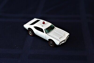 Vintage Hot Wheels Redline 1973 Police Cruiser Olds 442 Flying Colors VERY NICE!