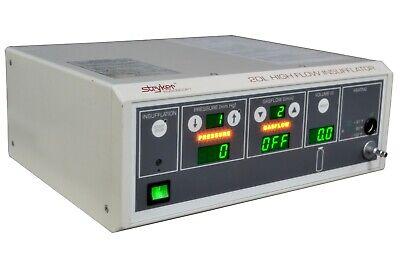 Stryker 620-030-400 F20 Endoscopy 20l High Flow Insufflatorconsole Unit
