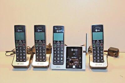 ATT CL82413 DECT 6.0 Cordless Phone W / Digital Answering System 4 Handset