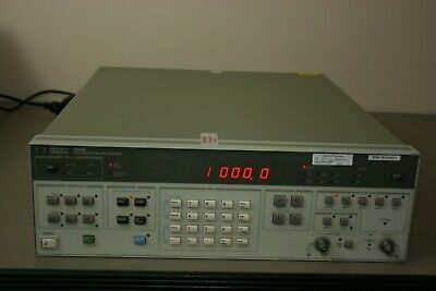 Hp 3325b Synthesizer Function Generator Recent Calibration 30 Day Warranty