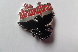 THE STRANGLERS the raven PUNK METAL BADGE very hard to find collectable
