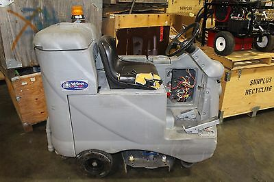 Nilfisk Advance Ride On Floor Sweeper Scrubber Advantager