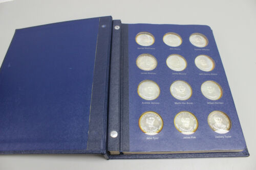 Franklin Mint 36-Coin Treasury of Presidential Commemorative Medals - 1970