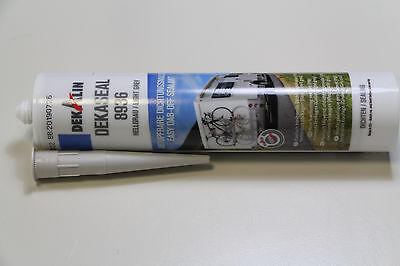 Dekalin Dichtungsmasse Dekaseal 8936 / 310 ml ( 100 ml =  2,72 EUR ) Hellgrau