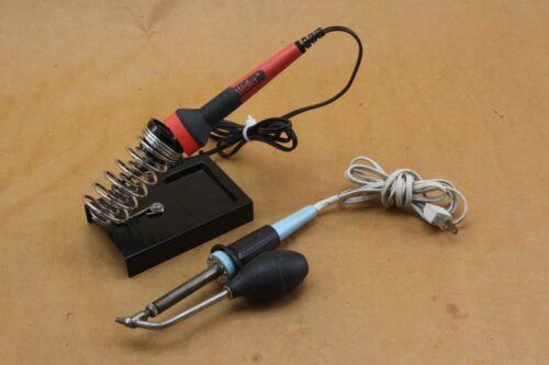 Weller DS40 DS-40 Desoldering Iron W/ Weller SP25NUS 25-Watts Soldering Iron LED