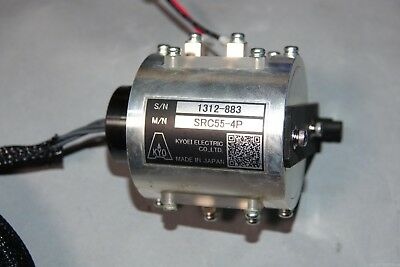 Tested Working Well Kyoei Src55 4p Slip Ring Slipring Assembly 200v 15a 4pins