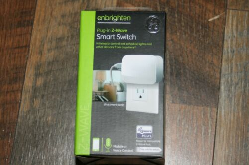 Single Plug Z-Wave Plus Plug-In EZ Smart Switch - ZW4103 -