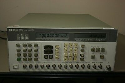 Hp Agilent 8782b Vector Signal Generator Opt 001 Calibrated With 30 Day Warranty