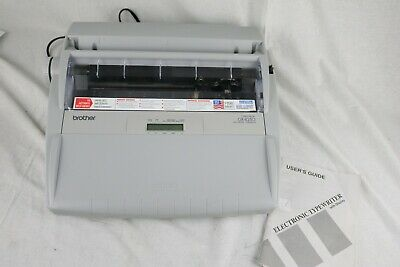 Brother Gx-8250 Electric Typewriter - Tested
