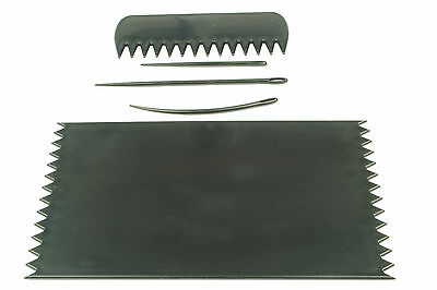 BLACK Weaving Loom Board Frame 95 x 160mm with Comb & Needles, Phone Sock. - Weaving Board