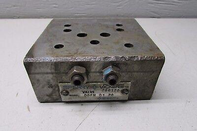 Vickers Dgfn-01-20 Hydraulic Manifold