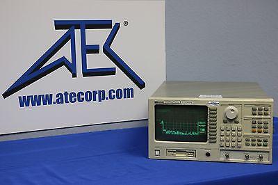 Agilent Hp 35665a Dynamic Signal Analyzer W Opts. 1c1 1c2 1d4