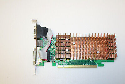 Carte graphique Biostar PCIE NVidia 7100GS 128Mb  DVI / VGA (V7102GL-13) TESTED