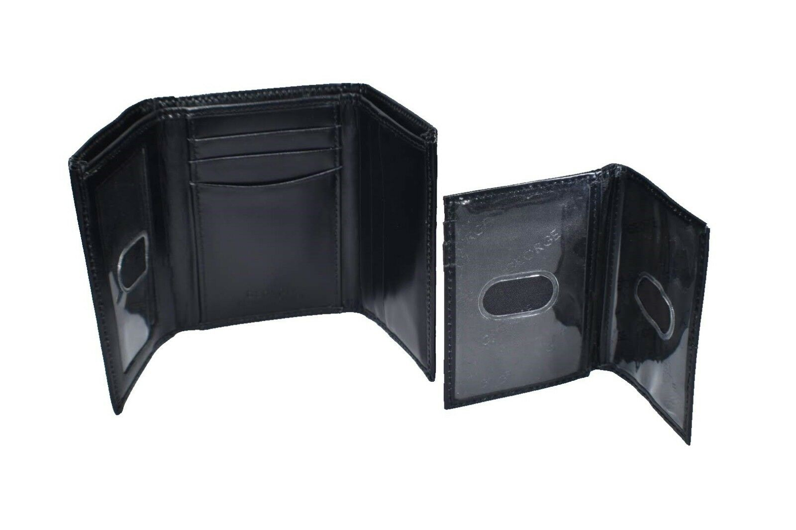 Men's Genuine Leather Trifold w/Removable Insert-8 Card Slot