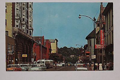 Old Vintage Market Street Clearfield Pa Pennsylvania Postcard
