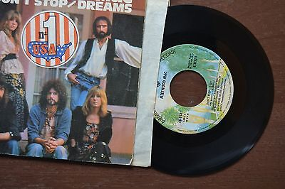 Fleetwood Mac Don T Stop Dreams Spain Import 7  45 Record Vg