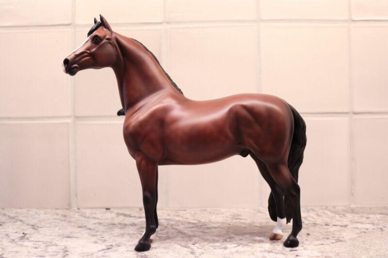 Peter Stone Model Horse Red Baron OOAK Hand Painted Santa Fe Morgan Equilocity