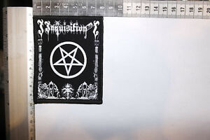 INQUISITION SILK SCREEN PRINTED PATCH