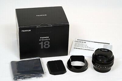 Fujinon Fujifilm Fuji XF Super EBC 18mm f2 R lens