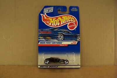 HOT WHEELS , TRACK T , 1999 FIRST EDITIONS , #12 of 26 , ON CARD ,